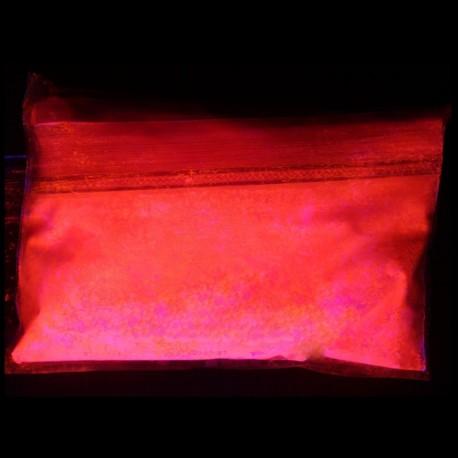 Fluorescent luminescent glow in the dark additive pigment powder