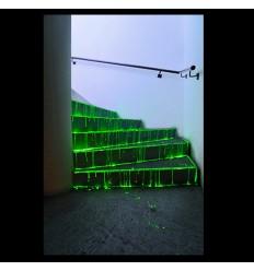 Vernice liquida base acqua fosforescente luminescente che si illumina al buio