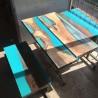 Resina epossidica bi-componente trasparente per pigmenti 320gr