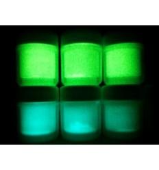 Pigmento Fosforescente in granuli di vetro super luminoso in due colori