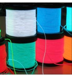 Fluorescent phosphorescent glow in the dark shoelaces