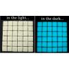 Mattonelle smaltate fosforescenti per arredamento che si illuminano al buio
