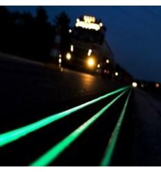 Phosphorescent luminescent glow in the dark liquid paint