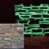 Vernice spray fosforescente fluorescente che si illumina al buio
