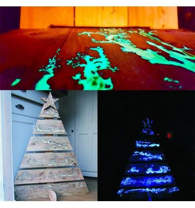 Pigmento additivo polvere luminescente che si illumina al buio