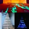 Phosphorescent luminescent glow in the dark additive pigment powder
