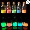 Luminescent powder additive fluoroscente pigment that glows in the dark