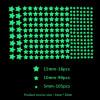 Fluorescents phosphorescents glow in the dark stars stickers